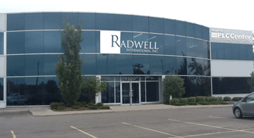 Bâtiment Radwell International.