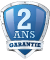 Garantie 2 ans