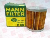 MANN FILTER C66