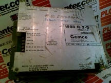 GEMCO ELECTRIC 1988-R-2-D