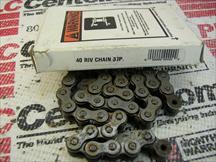 DIAMOND CHAIN RC-40-RIV-37P-W1CL1OL