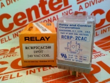 RELAY AND CONTROL CORP RCRP-2CAC240