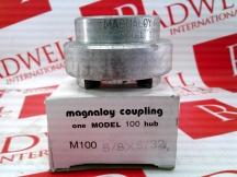 MAGNALOY COUPLINGS M100-5/8X5/32