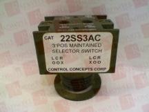 CONTROL CONCEPTS 22SS3AC