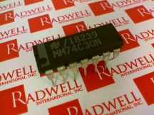 NATIONAL SEMICONDUCTOR MM74C30N