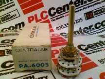 CENTRALAB PA6005