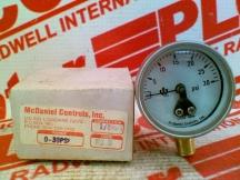 MCDANIEL CONTROLS R3B
