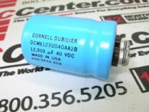 CORNELL DUBILIER DCMX123U040AA2B