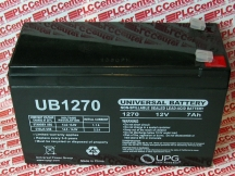 BB BATTERY UB1270