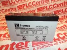 SIGMAS TEK SP6-7-6V7AH/T1