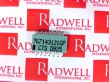 CTS 767143121GP-TR13
