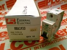 FEDERAL ELECTRIC HBA1P20