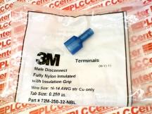 3M TAPE DIVISION 72M-250-32-NBL
