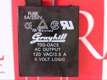 GRAYHILL INC 70G-OAC5