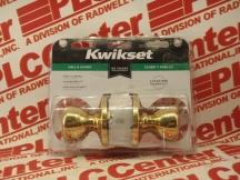 KWIKSET CORPORATION 200T-3-CP-PB