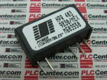 POWER CONVERTIBLES HPR403