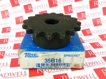 MARTIN SPROCKET & GEAR INC 35B16