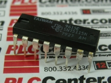 TI SEMICONDUCTOR IC75115N