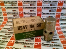 US AIR & VACUUM VALVE CO 50-1/8