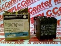 GEC INDUSTRIAL MCO/40-110-120/50HZ-125-135/60HZ