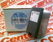 NON LINEAR SYSTEMS 2801-5001