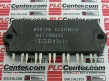 BODINE ELECTRIC 44770002C