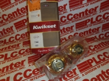 KWIKSET CORPORATION 985-15SMT-CP