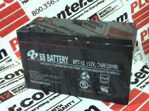 BB BATTERY BP7-12