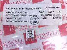 CADDOCK SR1000501