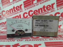 HOYT ELECTRICAL INSTRUMENTS 708-00006