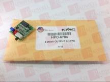 KMC CONTROLS HPO-6704