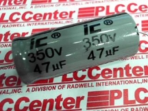 ILLINOIS CAPACITOR 476TTA350M