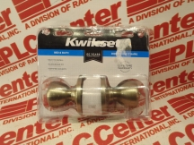 KWIKSET CORPORATION 300T-5-CP-BBPKG