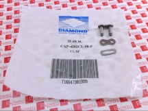 DIAMOND CHAIN CAP-4282CL-08-P
