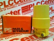 PASS & SEYMOUR 3333-SS-YEL