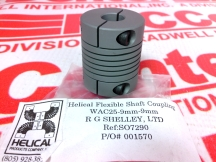 HELICAL WAC25-9MM-9MM