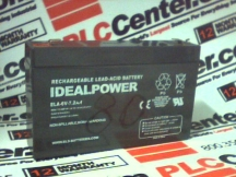 IDEAL POWER CONVERTERS ELA.6V-7.2AH