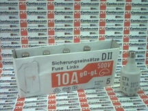 SICHERUNGSEINSATZE DII-10AGG-GL500V