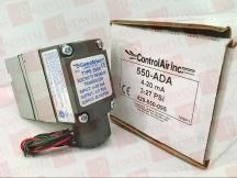 CONTROLAIR INC 550-ADA