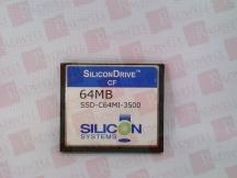 SILICON SYSTEMS INC SSD-C64MI-3500
