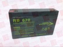 JASCO BATTERY RB670