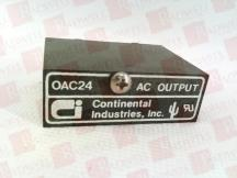 CONTINENTAL INDUSTRIES OAC24