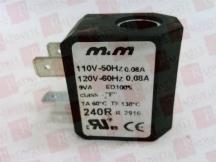 M&M INTERNATIONAL 240R