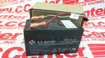 BB BATTERY BP1.2-12