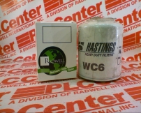 HASTINGS FILTERS WC6