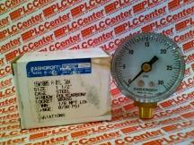 ASHCROFT 15W1005-H-01L-30