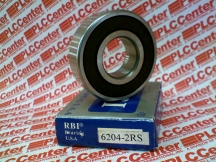 RBI BEARING 6204-2RS