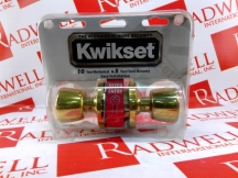 KWIKSET CORPORATION 400T-3-CP-AL-K3