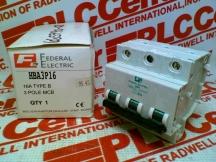 FEDERAL ELECTRIC HBA3P16