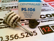 CENTRALAB PS-106